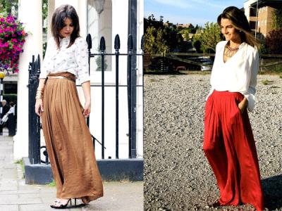 Top 5: Cómo combinar una falda larga