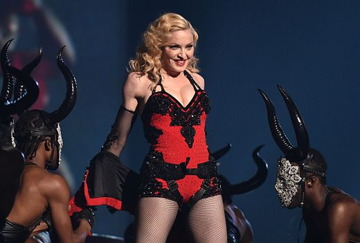 Madonna en los grammy