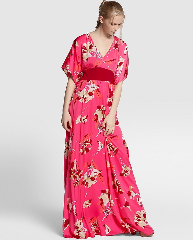 Tintoretto moda vestido largo