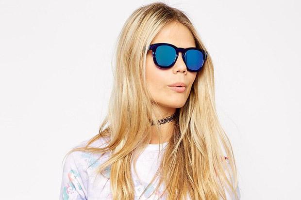 gafas de moda espejo