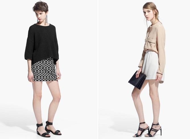 ropa para ir a la oficina faldas