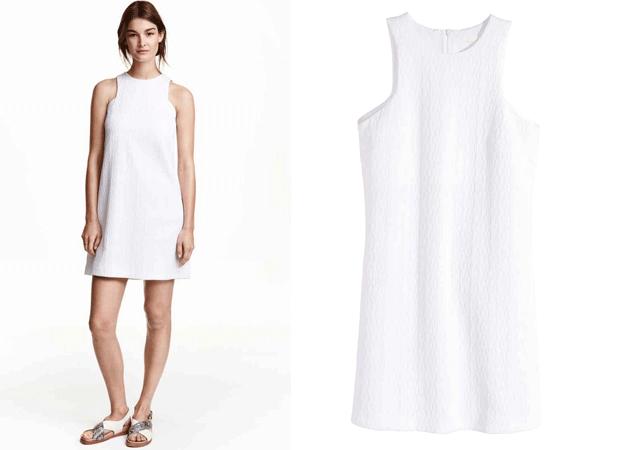 Vestido barato blanco