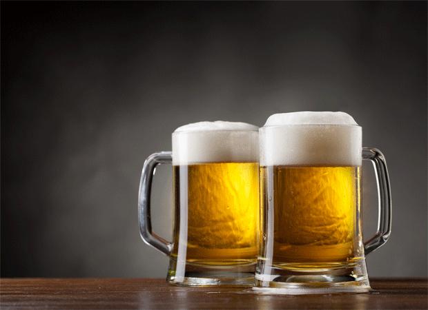 Bronceado cerveza