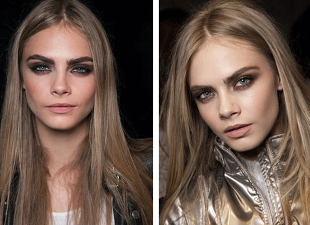 Cara Delevingne Smokey eyes