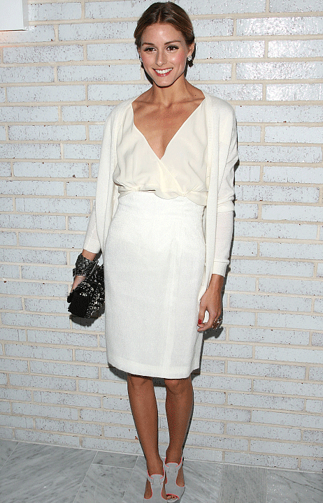 Vestido Blanco Olivia Palermo