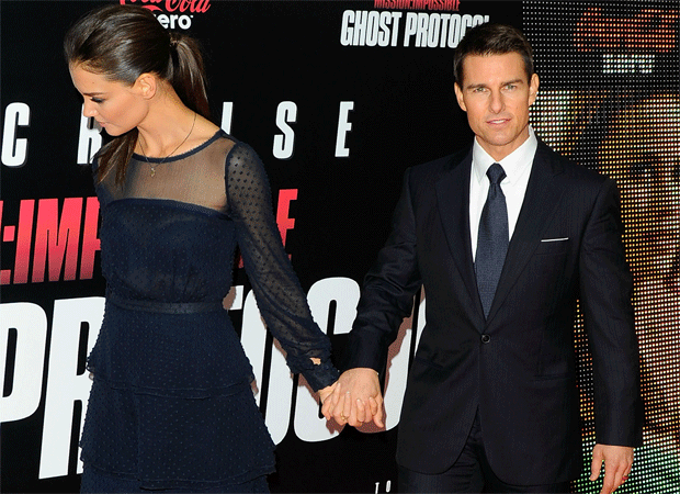 Tom Cruise con Katie Holmes