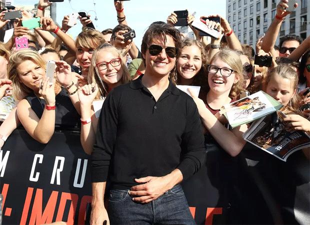 Tom Cruise con vaqueros