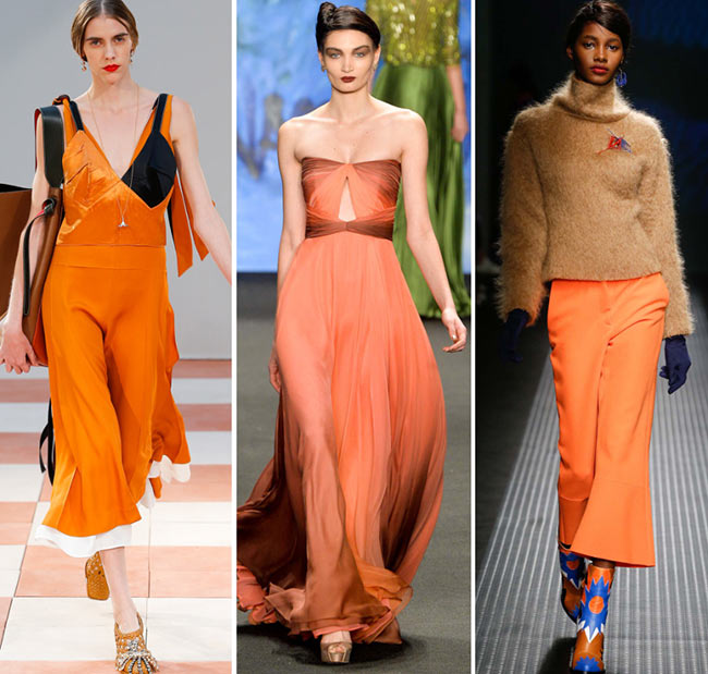 cadmiun orange moda otoño