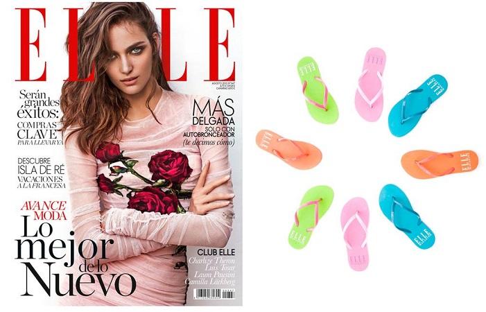 revistas de moda elle agosto