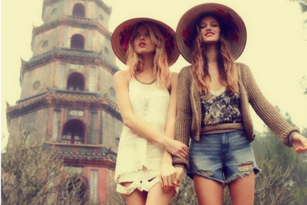 sombreros estilo boho chic