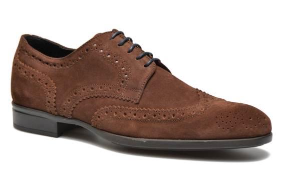 zapatos marrones caballero