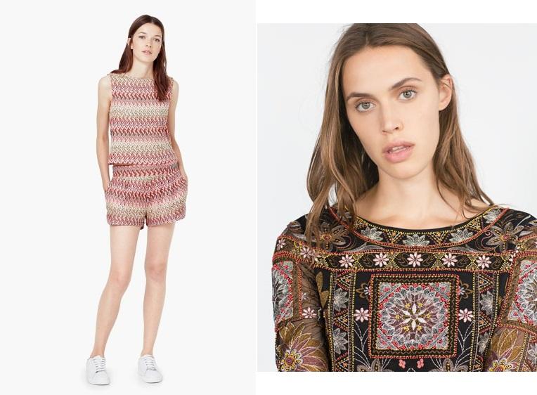 éstampado étnico moda