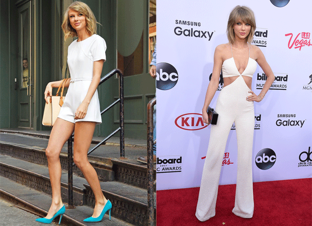 Mono blanco Taylor Swift