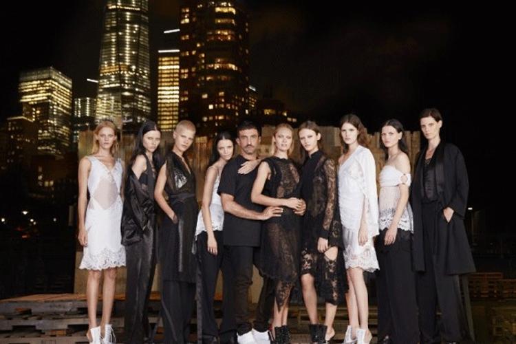 Riccardo Tisci y modelos