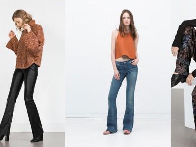 Los pantalones de campana el comeback del 2015