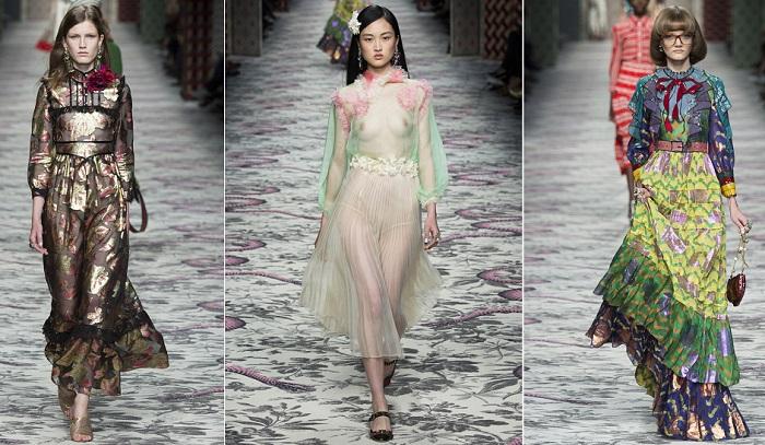 Gucci semana de la moda de Milán