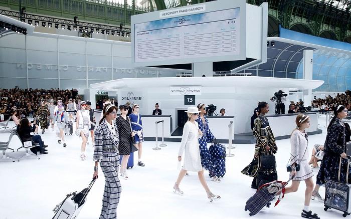 Semana de la moda en parís Chanel