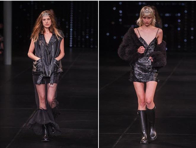 semana de la moda en París Saint Laurent