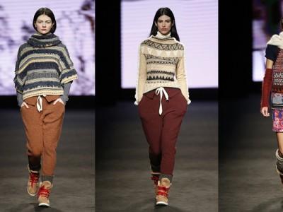 El estilo alpino se toma las colecciones de moda