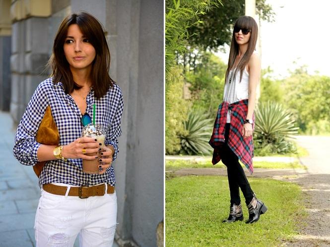 look con camisa de cuadros (3)