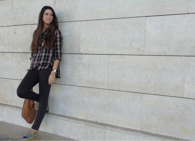 look con camisa de cuadros (5)