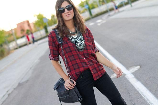 look con camisa de cuadros (7)