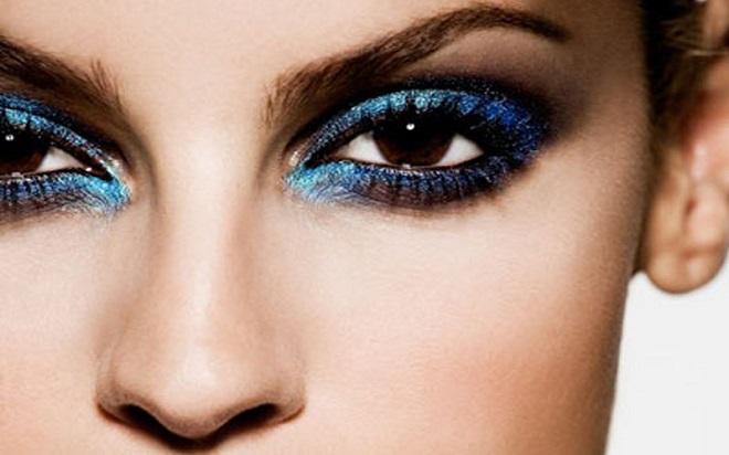 tendencias en maquillaje otoño invierno 2015 azul