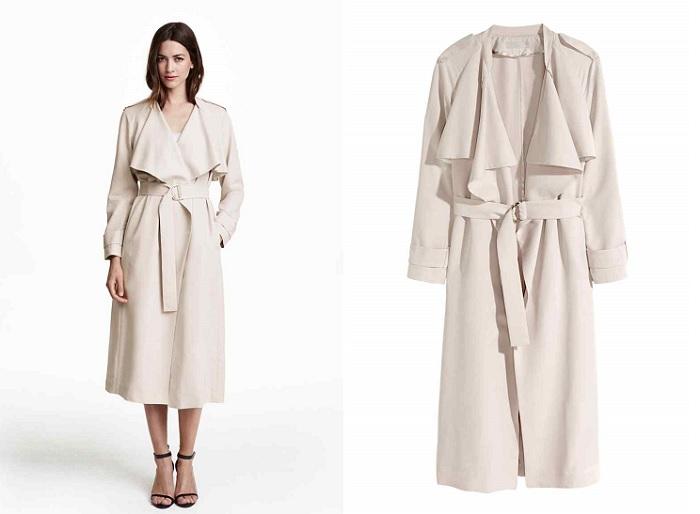 H&M gabardina abrigos largos