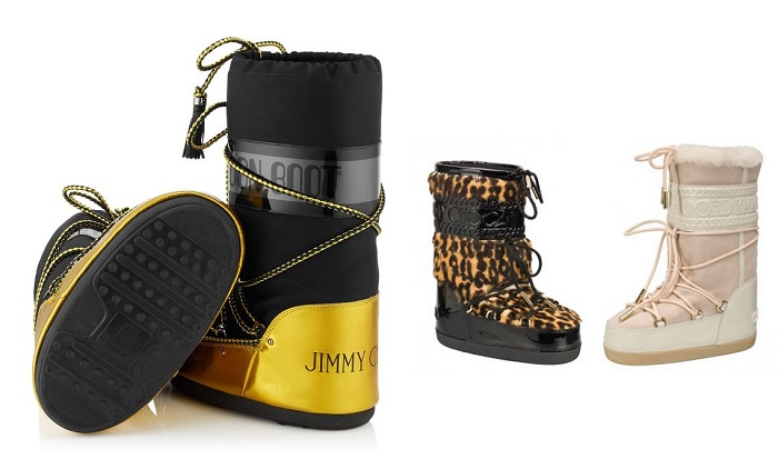 Moon boots jimmy choo