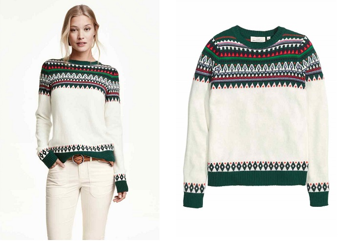 jerseys navideños 3 h&m