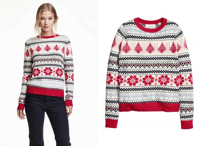 jesrseys navideños H&M 1