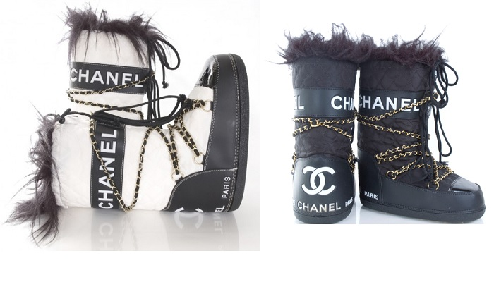 moon boots chanel