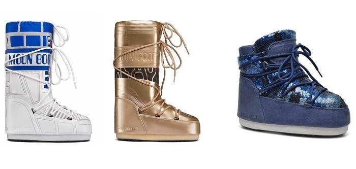 moon boots modelos