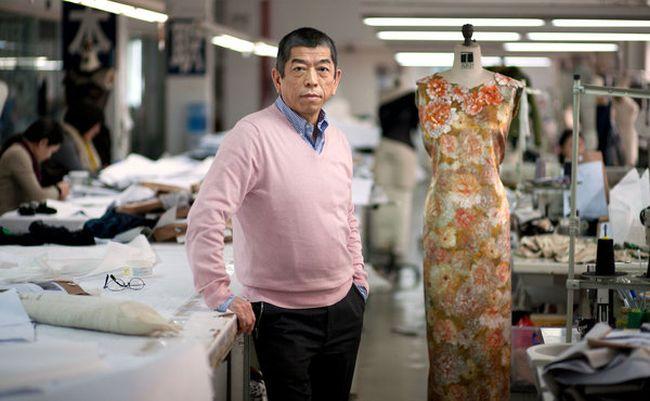 diseñadores de moda más famosos Shoji