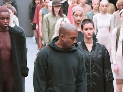 Kanye West el nuevo protagonista de la New York Fashion Week