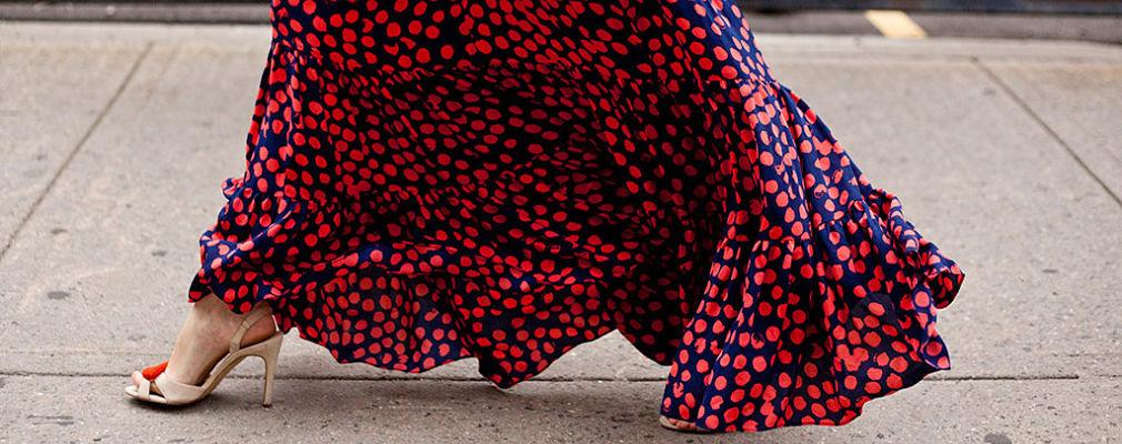cómo combinar faldas largas portada
