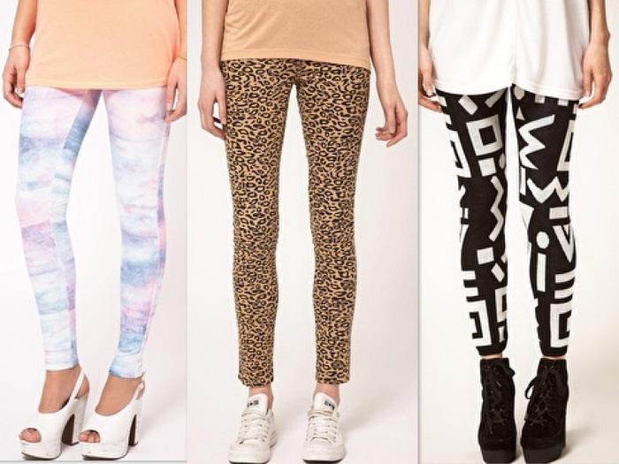 cómo combinar leggins (1)