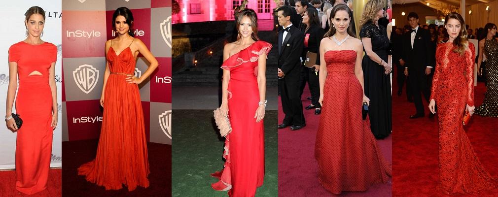 complementos para un vestido rojo portada