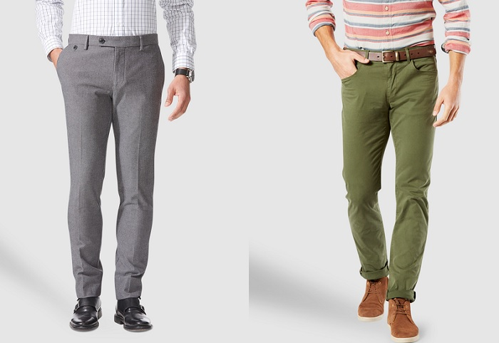 dockers marcas de pantalones