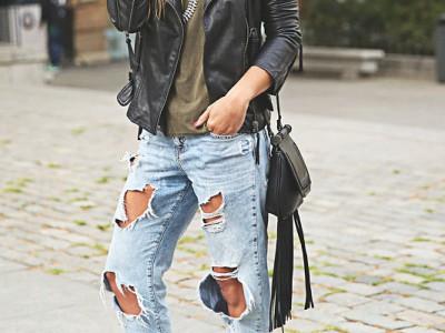 10 looks con boyfriend jeans