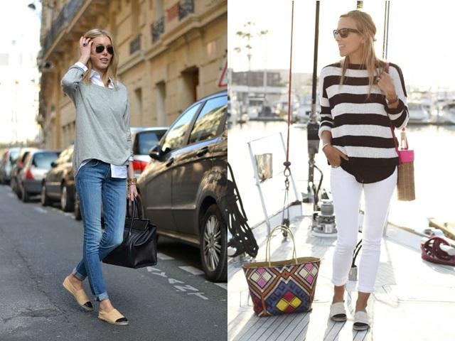 cómo combinar alpargatas street style (3)