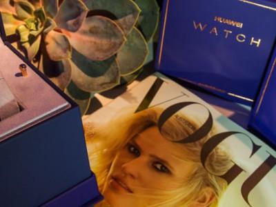Smartwatch 2: Vogue lanza una edición femenina junto a Huawei