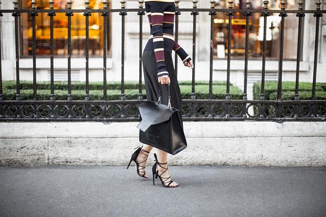 Cómo amarrar sandalias de tiras (3)
