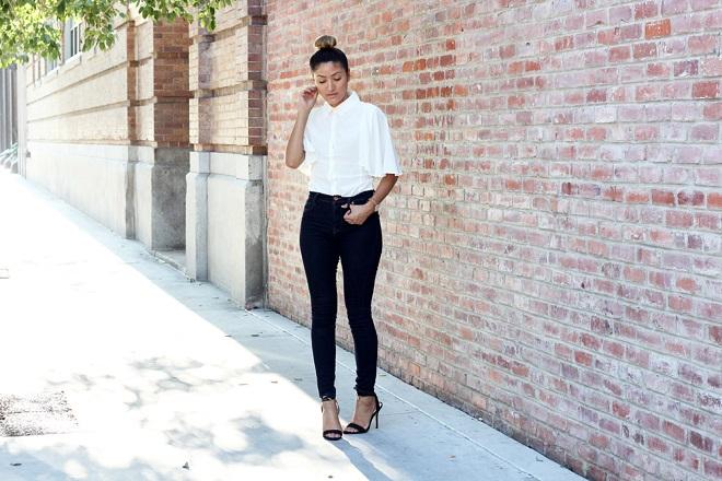 cómo vestir elegante con jeans (1)