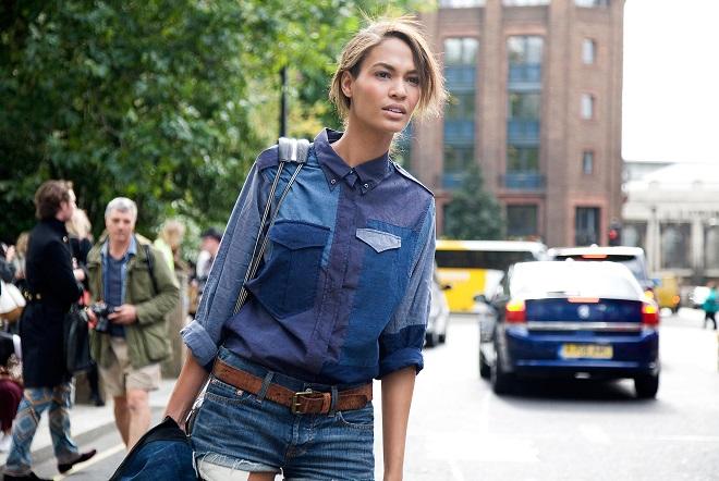 cómo vestir elegante con jeans (2)