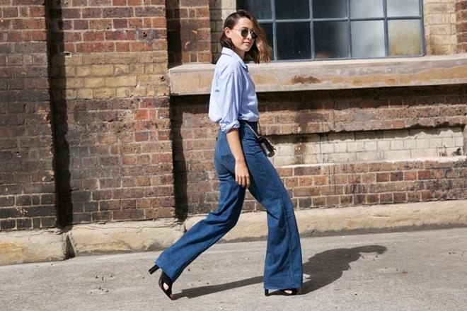 cómo vestir elegante con jeans (4)