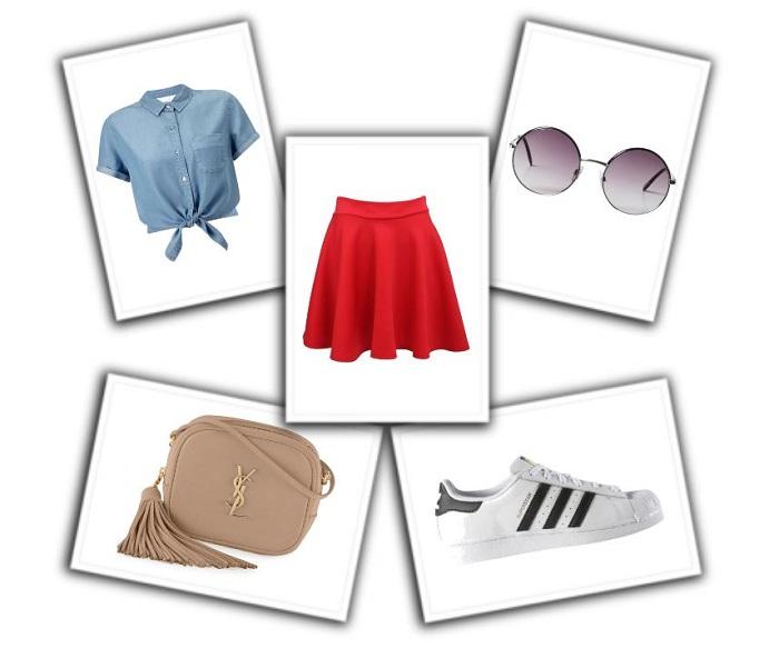 combinar falda roja (1)