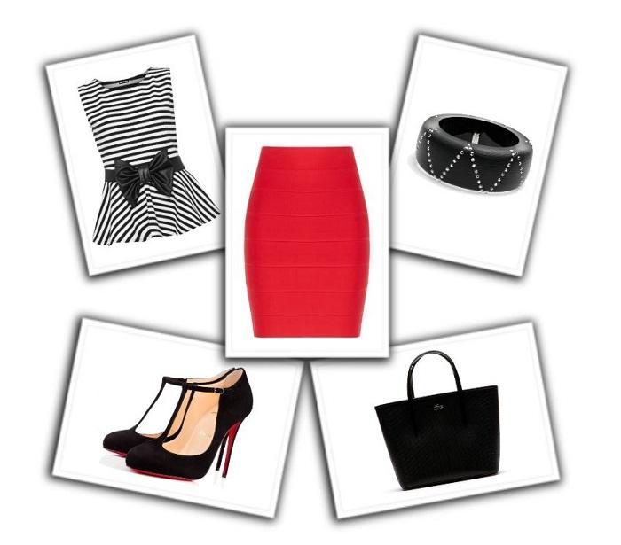 combinar falda roja (3)