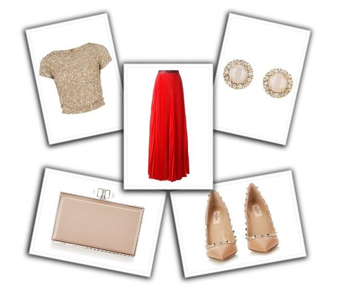 combinar falda roja (6)