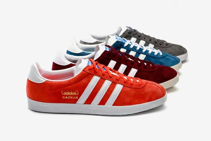 adidas gazelle rojas zapatillas